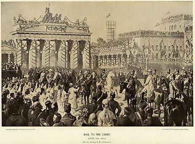 1871年にベルリンでオットーフォンビ ...