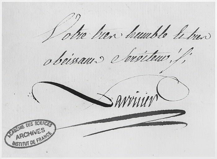 1769年8月31日、手紙からのラヴォワジ ...