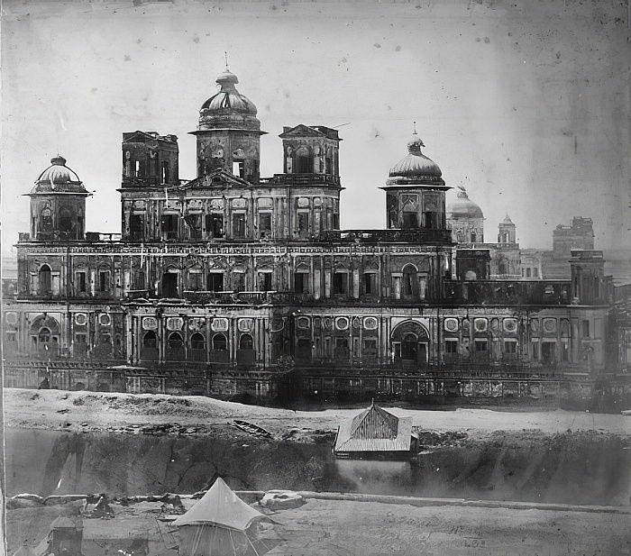 チャタマンジル、ラクナウ、1858年...