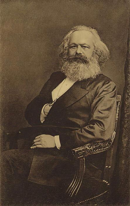 カールマルクス(1818〜1883年)、ドイ...