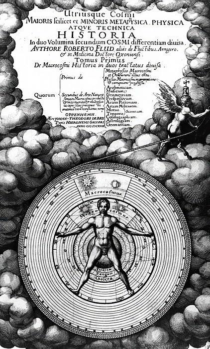 1617年に出版されたロバートフラッド ...