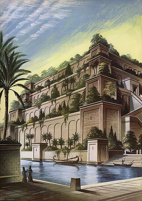 庭園 バビロン 空中