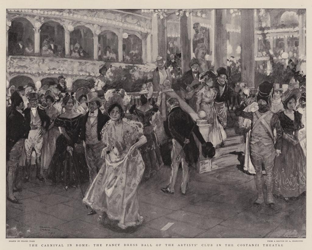 ローマのカーニバル、コスタンツィ ...