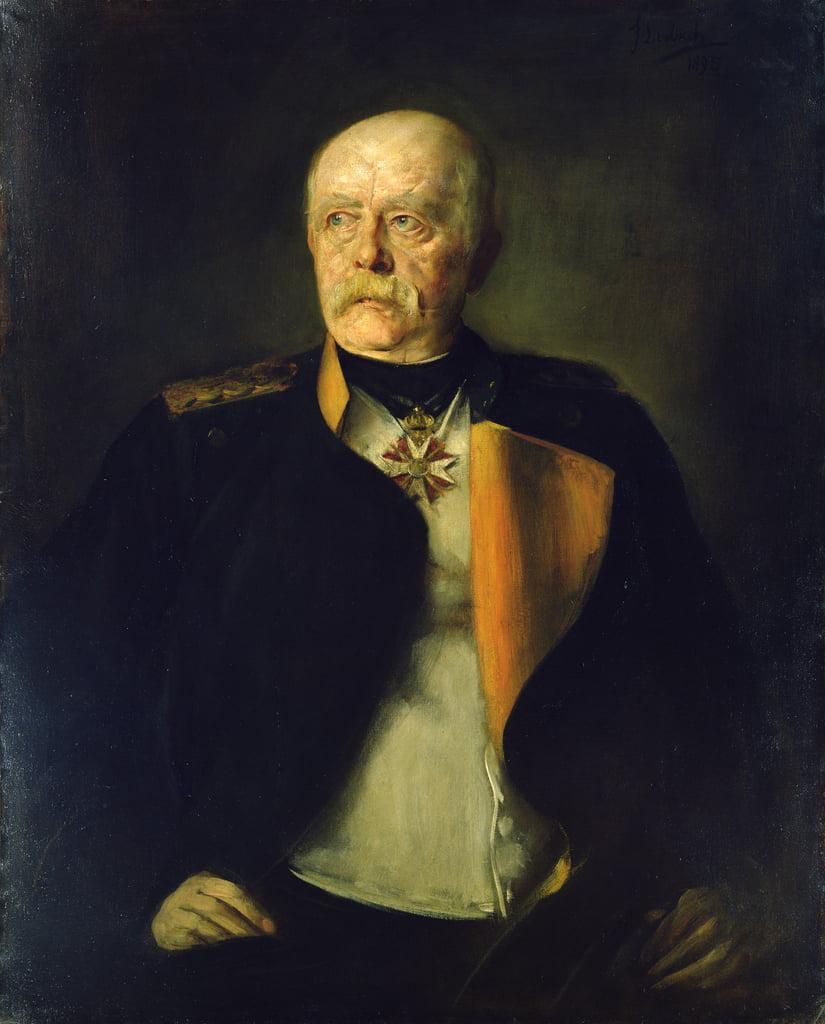 オットーフォンビスマルク、1890年頃...
