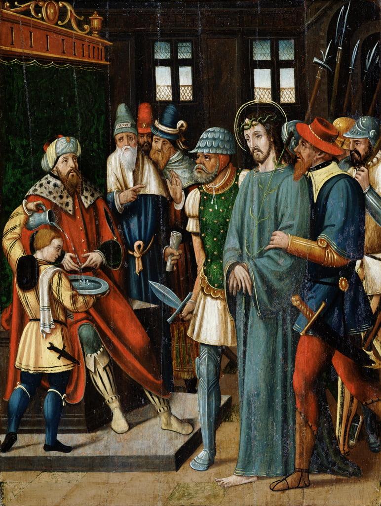 ピラトの前のイエスピラトの前のイエス