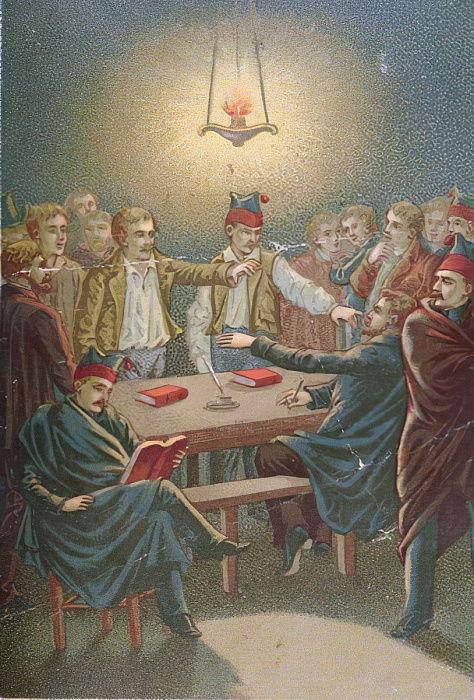 カルボナリ会議、1815年から30年...