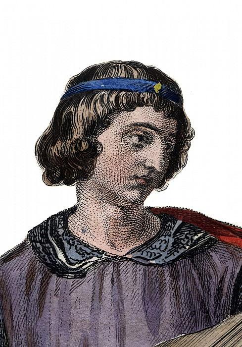 セオバルド1世の肖像(1201-1253)、シ ...