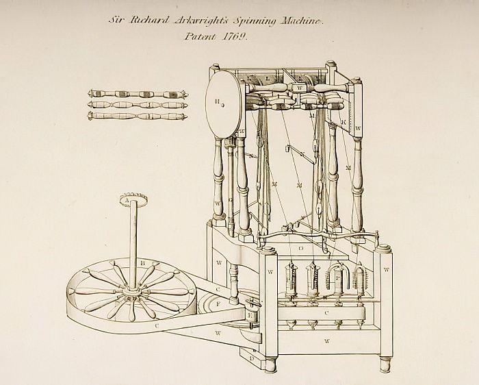 1769年に特許を取得したリチャードア ...