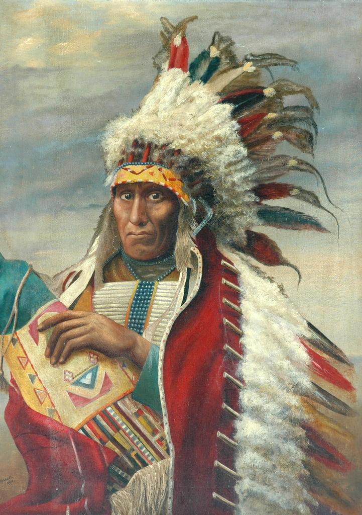 アメリカインディアン、1910...