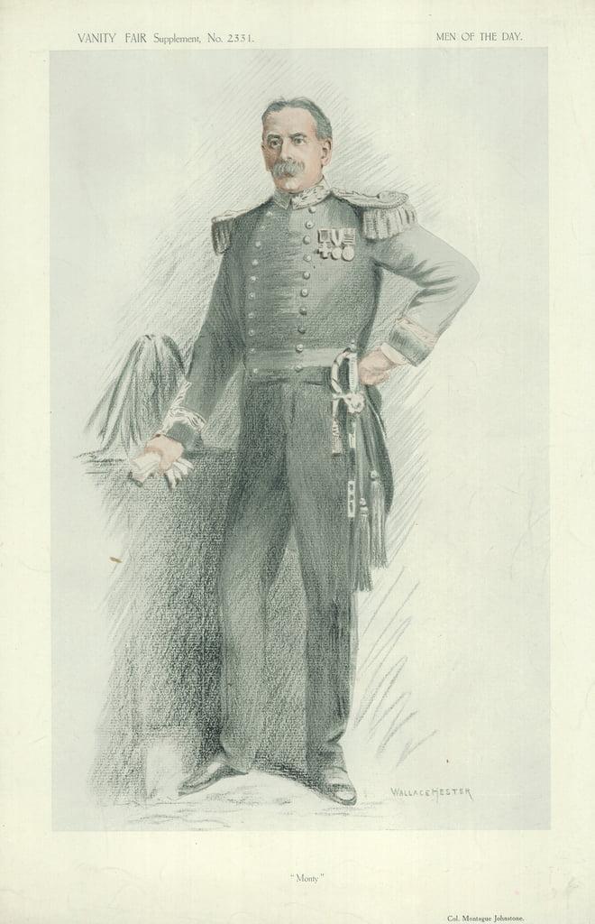 モンタギュー・ジョンストーン大佐...