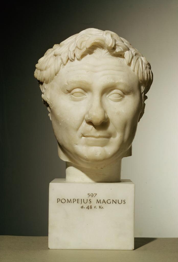 ポンペイの胸像(紀元前106〜48年)紀...