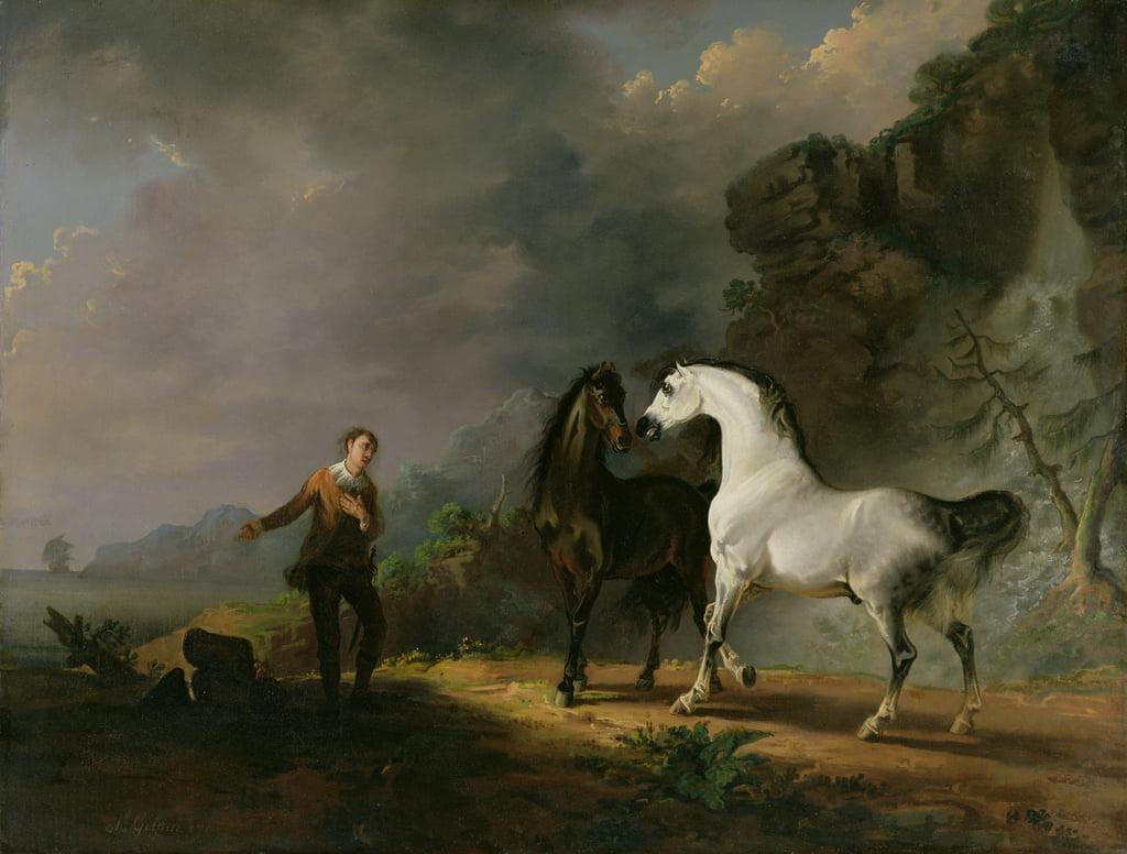 Houyhnhnms、1769年に対処するガリバー...