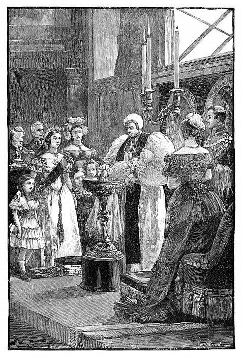 ルイーズ王女の洗礼式、c1848、1900。...